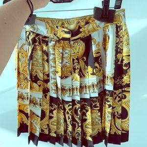 Versace tribute skirt